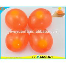 Venta caliente alta calidad solo Yolk huevo rojo Splat bola de juguete