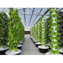 Hydroponic Growing System Garden Plastic Vertical Tower