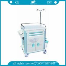 AG-ET015B1 nursing used abs emergency medicine hospital clinical treatment carts