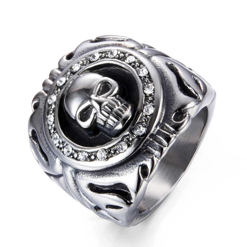 crystal signet ring