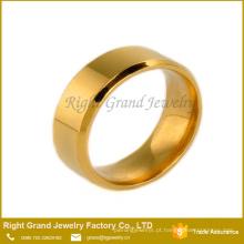 China atacado de alta qualidade novo modelo anel de casamento anel de noivado