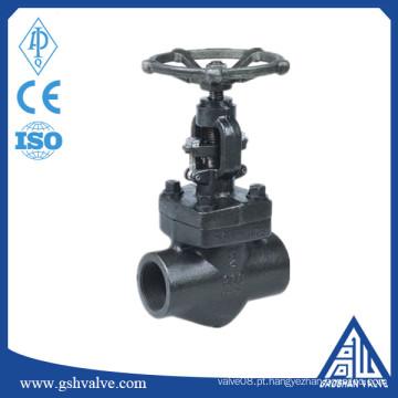 Válvula de globo de vapor de rosca forjada A105