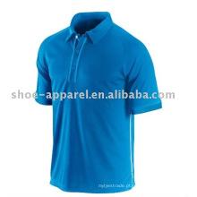 t-shirt de polo real de manga curta para homem