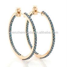 2013 Fashion in ear headphones hoop earrings for women