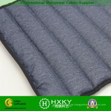 Poliéster Pongee dos capas de llenado directo a prueba de tela de la chaqueta de invierno