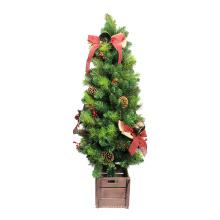 Лучшие продажи Рождество 2018 искусственная украшенная настольная елка