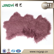 Cozy Mongolian Lamb Fur Wool	skin