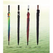 Auto Open Colorful Printing Straight Umbrella (JY-186)