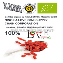 Organic goji berry--2017 new crop