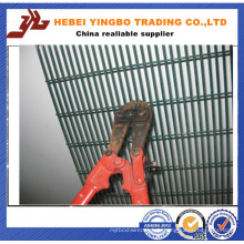 Difficulté à couper l'habillage en treillis en PVC à haute sécurité en PVC