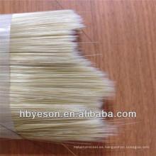 Brillante y recto alambre de cepillo / alambre de pincel con taper / monofilamento cepillo de alambre / Sri Lanka en venta