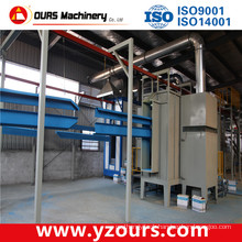 Fast Color Change Automatic Powder Coating Line for Metal Products