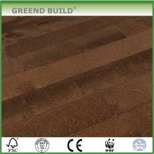 Brown Smooth engineered wood flooring