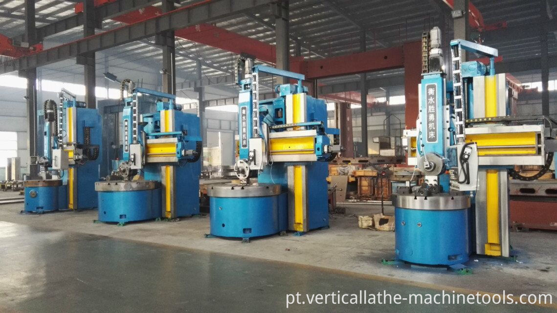 Manual vertical lathes