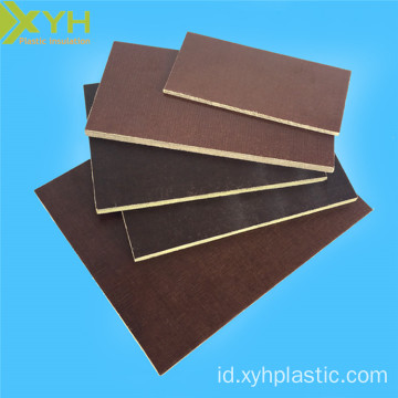Delaminasi Kopi Brown Phenolic Cotton Sheet