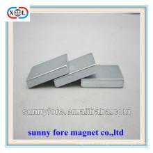 puissants aimants rectangulaires plates N35-N52