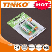 1.2v aa ni-mh rechargeable battery with CE/SGS