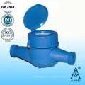 Medidor de agua fría plástico Multi Jet tipo seco