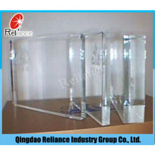 19mm extra klar Floatglas für Badezimmer