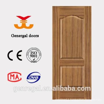 Interior cheap price 2 panel HDF moulding door design