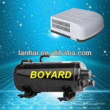 Высокая экономия места установки горизонтальный компрессор с R407c для лимузина rv автофургон на крыше кондиционер