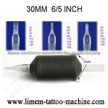 Poignée jetable de tatouage de silicone de 6 / 5inch 30mm