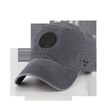 Brushed Coated Dyed Spandex canvas washed hat