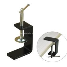 Black Powder Coating Metal Furniture Desk C Clamp