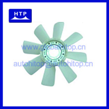 Auto radiator cooler fan blade for MITSUBISHI Engine 6D24T 8DC10 11A for FUSO FT850 FP series ME065378 8Blades 10Holes
