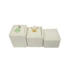 Venta al por mayor pendiente de la joyería del ante de la venta al por mayor (RST-3BPN3)