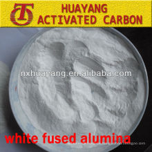 Sandstrahlen Polieren von weißem Aluminiumoxid