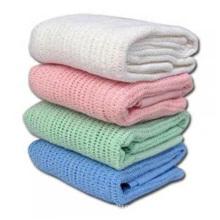 100 Cotton Thermal Cellular Blanket For Hospital