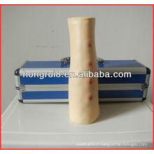 Avancé de haute qualité en plastique de haute qualité Intraadermal injection médicale bras de formation pour injection intradermique