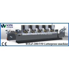 Máquina de impressão tipográfica automática rótulo (WJLZ-280)