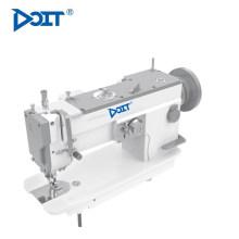 DT 2153B máquina de coser industrial de costura en zigzag superior e inferior para cuero