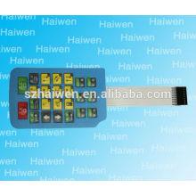 Membranschalter mit Flexi-Kabel 3m adhärierend