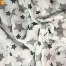 Nouveau produit Tissu de bébé en mousseline de coton imprimé