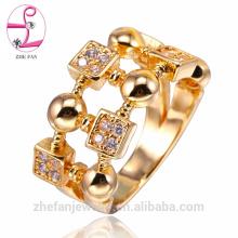 os projetos os mais atrasados do anel de dedo do ouro / 925 anéis de dedo indicador completos de prata do dedo