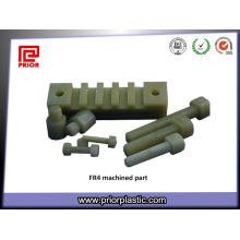 Peças feitas à máquina CNC pelo material da fibra de vidro de Fr4 G10