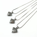 Wish You Love Pearl Collier Pendentif Cage