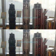 Difusor sumergible eléctrico horizontal de la bomba