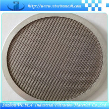 Round Shape Stainless Steel Filter Disc
