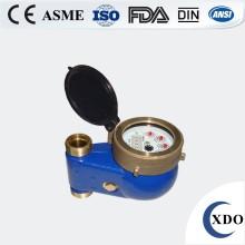 Digital recta lectura de medidor de agua fría