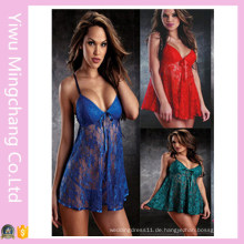 Neue Mode Sexy Lace Nachtwäsche Pyjamas