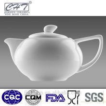 Fine bone china white fine porcelain chinese tea pot set