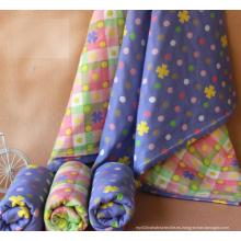 100% algodón Baby Muslin Swaddle / Swaddle del bebé con diverso diseño