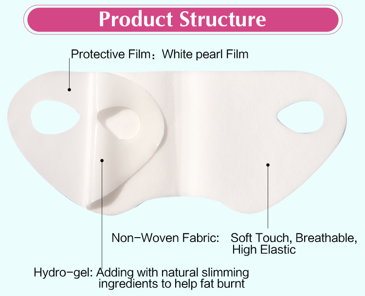 v-shape lifting up face mask