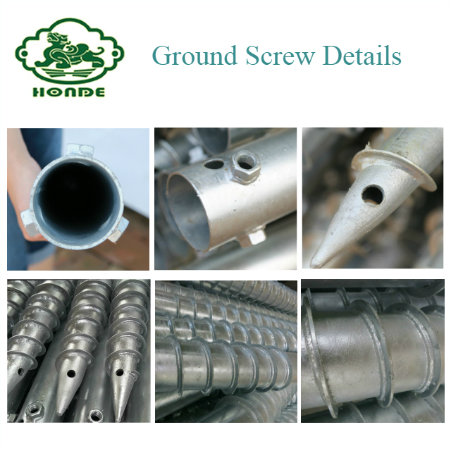 Ground Spiral Screw