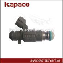 Марка Оригинальная форсунка топливного форсунки 16600-5L700 FBJC100
