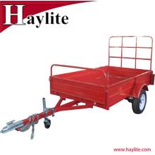 Hot sale powder coated agriculture farm dump trailer for sale